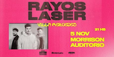 Rayos Laser en Villa Mercedes entradas