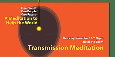 Introductory Transmission Meditation talk w/ meditation, November 18, 2021 tickets