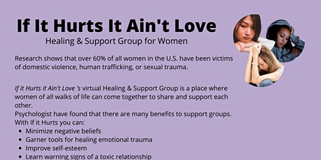 If it Hurts it Ain't Love: Healing and Support Group for Women tickets