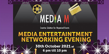 Media Entertainment Networking Evening with live performances tickets