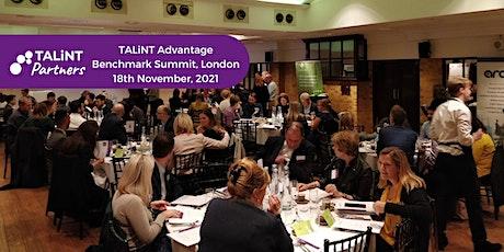 TALiNT Partners Benchmark Summit tickets