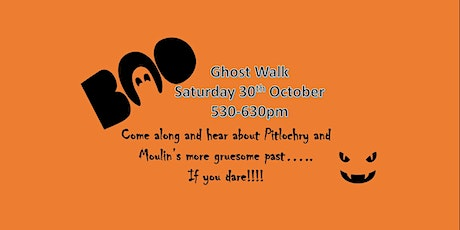 Ghost Walk - Pitlochry and Moulin tickets