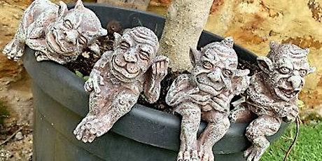 Garden Gargoyle Ceramic Workshop tickets