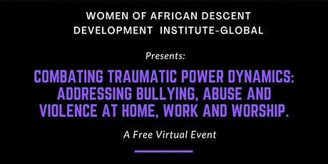 COMBATING TRAUMATIC POWER DYNAMICS tickets