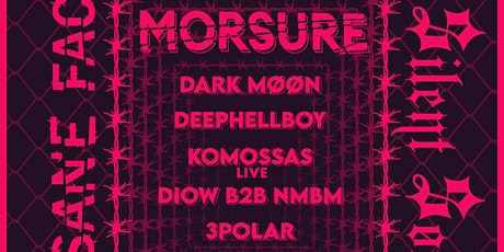 Insane Faces - MORSURE, Dark Møøn, Deephellboy... entradas