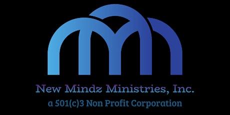 New Mindz Ministries, Inc. Non-Profit Virtual Launch Party tickets