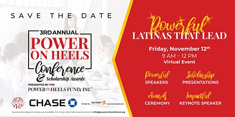 Power On Heels Fund, Inc  - 3rd Annual Conference & Scholarship Awards tickets