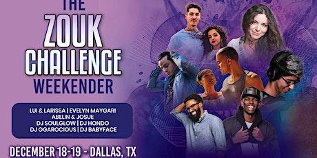 Zouk Challenge Weekender tickets
