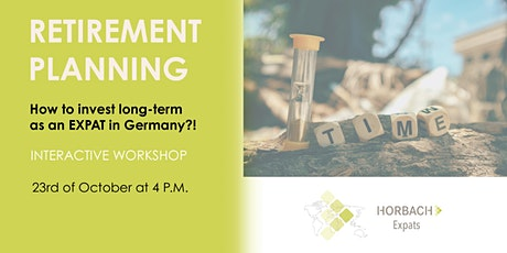 Retirement Planning in Germany tickets