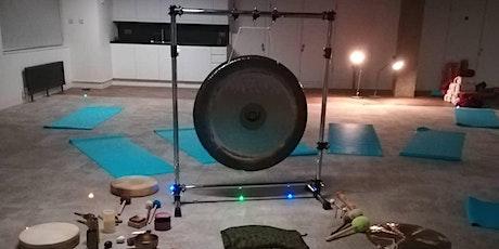 Gong bath meditation and sound journey Camden London tickets