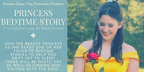 Princess Bedtime Story with the Beauty Princess! tickets