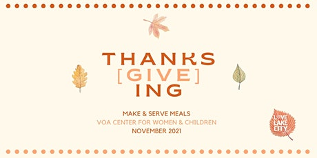 Make & Serve Meals at the VOA Center for Women & Children tickets
