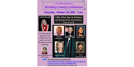 Villa Wine Bar Standup Comedy - October 23 tickets