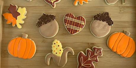 Thanksgiving Cookie Decorating Class tickets