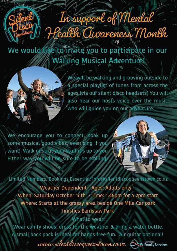 Silent Disco Musical Adventure - Mental Health Awareness Week image