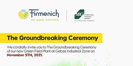 The Groundbreaking Ceremony of Our New Green Field Plant tickets