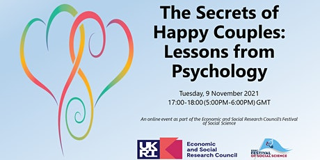 The Secrets of Happy Couples: Lessons from Psychology tickets