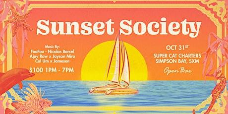 Sunset Society SXM: Halloween Edition tickets
