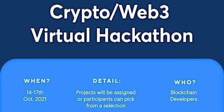 Afriexapp Web3/Crypto Virtual Hackathon for Blockchain Developers Tickets