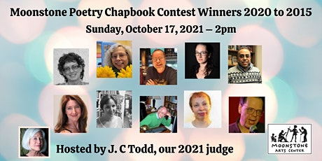 Virtual Poetry Reading: Chapbook Contest Winners from 2020 to 2015 tickets