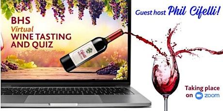 Boroughmuir High School Virtual Wine Tasting & Quiz  2021 billets
