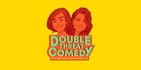 Double Threat Comedy  w/ Ashley Hesseltine (Girls Gotta Eat Podcast) tickets