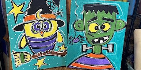 Pumpkin & Pizza Pop-up Paint Party tickets