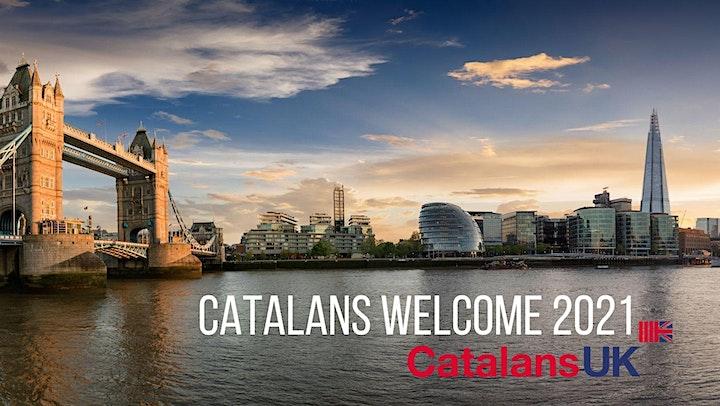 Catalans, Welcome! 2021 - Sessió Presencial, Londres a 17 Fleet Street! image