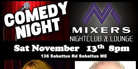MIXERS - COMEDY NIGHT - Jody Sloane tickets