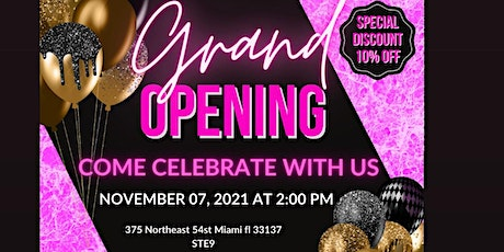 Natous Herbs  Grand Opening tickets