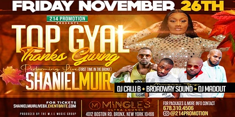 TOP GYAL THANKSGIVING tickets