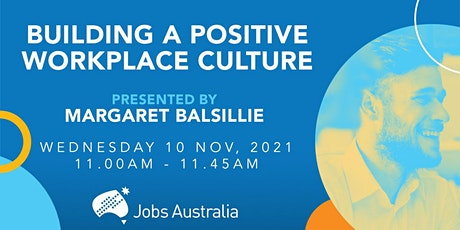 Building a Positive Workplace Culture tickets