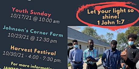 #CBCBurlingtonNJ Youth Month Harvest Festival tickets