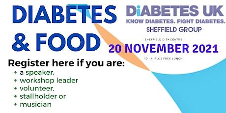 FOOD EVENT  20/11/21 - Speakers, Leaders, Stalls, Volunteers Registration tickets