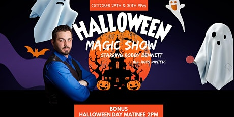 Robby Bennett Halloween Magic Show at Comics Live! tickets