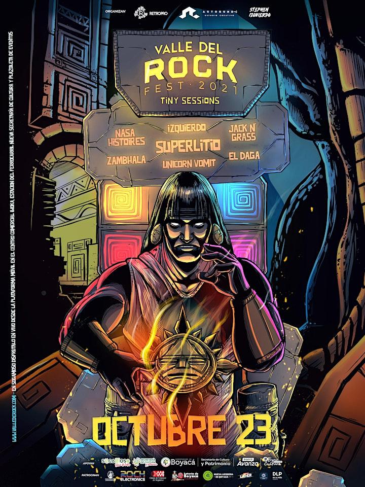 Imagen de Valle del Rock Fest 2021 - Tiny Sessions