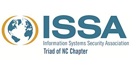 Triad NC ISSA Monthly Meeting - 2021-10 @ Online tickets