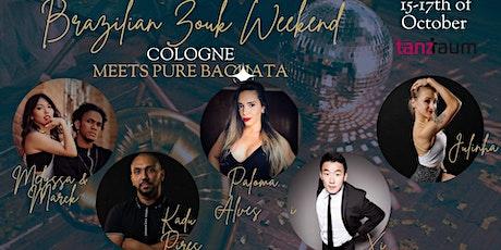 Brazilian Zouk Weekend in Cologne | Marck & Melyssa | Paloma Alves | Kadu tickets