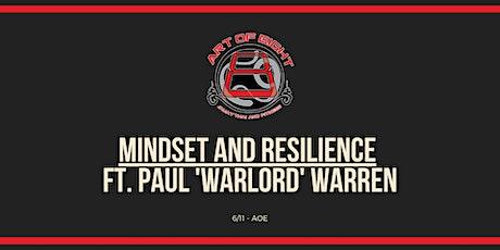 Mindset and Resilience - November Seminar Ft. Paul Warren @ AOE! tickets