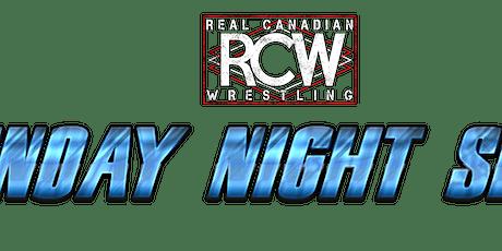 RCW SUNDAY NIGHT SLAM tickets