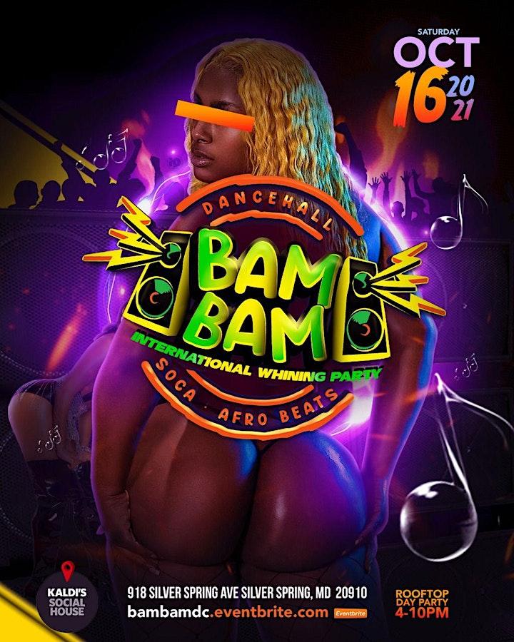 BAM BAM | International Whining Party | Washington D.C. image