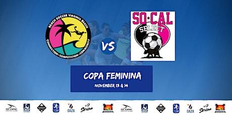 Beach Soccer VB vs SoCal Select tickets