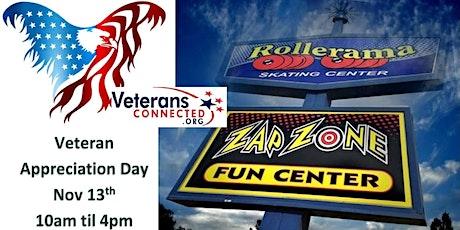 Veteran Appreciation Day at Zap-Zone/Rollerama tickets