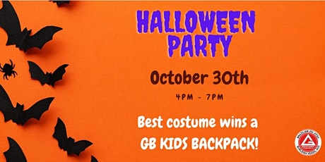 Halloween Party at Gracie Barra tickets