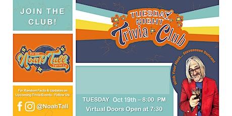TUESDAY NIGHT TRIVIA CLUB tickets