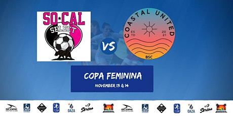 SoCal Select vs Costal United tickets