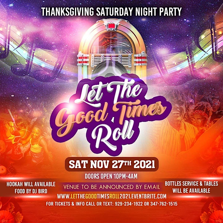 LET THE GOOD TIMES ROLL 2021 image