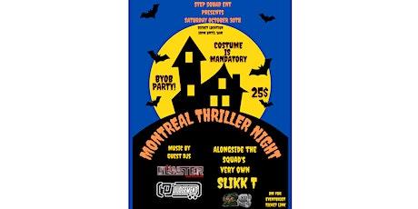 Montreal Thriller Night billets