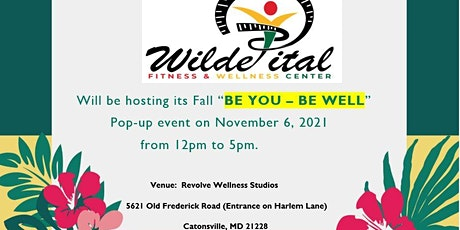 """Fall - Health and Wellness Expo """"BE YOU - BE WELL"""" tickets"""