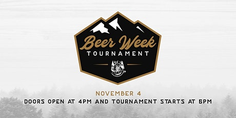Official Charleston Beer Week Tournament tickets